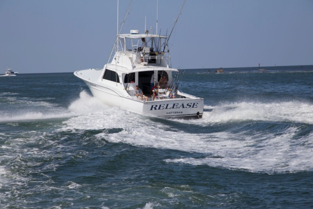 The boat release sportfishing excellent year round for North carolina surf fishing license