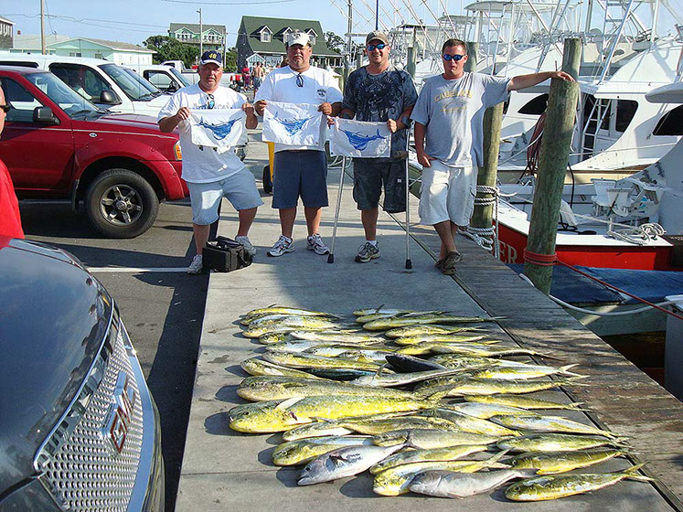 Fishing report release sportfishing excellent year for Fishing outer banks nc